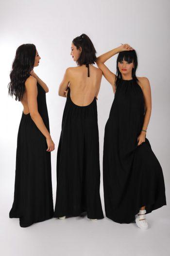 Rochie neagra, lunga